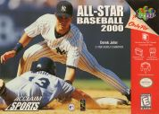 Scan of front side of box of All-Star Baseball 2000