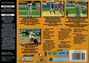 Scan of back side of box of All-Star Baseball 2000