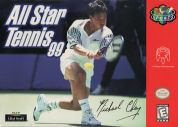 Scan of front side of box of All-Star Tennis '99