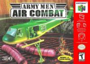 Scan of front side of box of Army Men: Air Combat