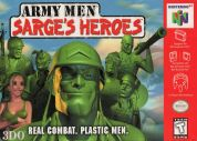 Scan of front side of box of Army Men: Sarge's Heroes