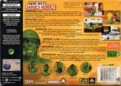 Scan of back side of box of Army Men: Sarge's Heroes