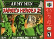 Scan of front side of box of Army Men: Sarge's Heroes 2 - Second print