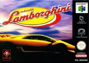 Scan of front side of box of Automobili Lamborghini
