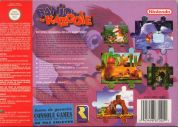Scan of back side of box of Banjo-Kazooie