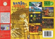 Scan of back side of box of Banjo-Tooie
