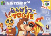 Scan of front side of box of Banjo-Tooie
