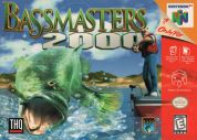 Scan of front side of box of Bass Masters 2000