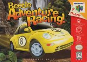 Scan of front side of box of Beetle Adventure Racing