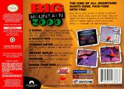 Scan of back side of box of Big Mountain 2000