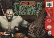Scan of front side of box of Bio F.R.E.A.K.S.
