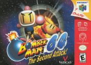 Scan of front side of box of Bomberman 64: The Second Attack