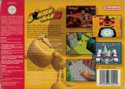 Scan of back side of box of Bomberman 64