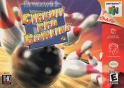 Scan of front side of box of Brunswick Circuit Pro Bowling