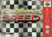 Scan of front side of box of California Speed
