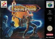 Scan of front side of box of Castlevania