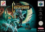 Scan of front side of box of Castlevania: Legacy of Darkness