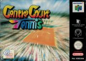 Scan of front side of box of Centre Court Tennis