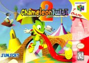 Scan of front side of box of Chameleon Twist 2