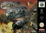 Scan of front side of box of Chopper Attack