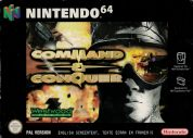 Scan of front side of box of Command & Conquer