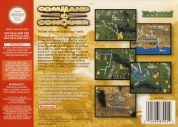 Scan of back side of box of Command & Conquer