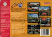 Scan of back side of box of Cruis'n USA