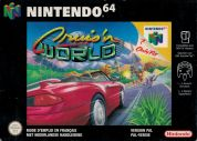 Scan of front side of box of Cruis'n World
