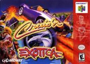 Scan of front side of box of Cruis'n Exotica