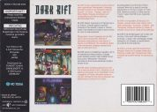 Scan of back side of box of Dark Rift