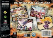 Scan of back side of box of Destruction Derby 64