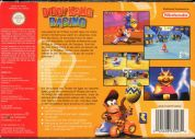 Scan of back side of box of Diddy Kong Racing