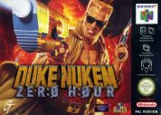Scan of front side of box of Duke Nukem Zero Hour