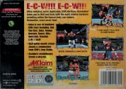 Scan of back side of box of ECW Hardcore Revolution