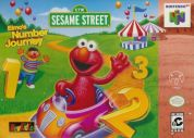Scan of front side of box of Elmo's Number Journey