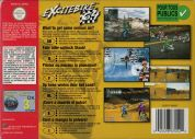 Scan of back side of box of Excitebike 64