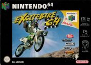 Scan of front side of box of Excitebike 64