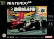 Scan of front side of box of F-1 World Grand Prix II