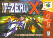 Scan of front side of box of F-Zero X