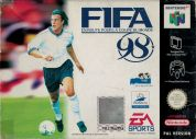 Scan of front side of box of FIFA 98 : En Route Pour La Coupe Du Monde