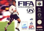 Scan of front side of box of FIFA 98: Road to World Cup 98