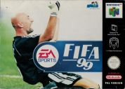 Scan of front side of box of FIFA 99