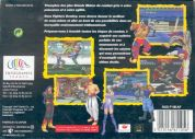 Scan of back side of box of Fighters Destiny