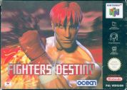 Scan of front side of box of Fighters Destiny