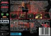 Scan of back side of box of Fighting Force 64