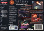 Scan of back side of box of Forsaken