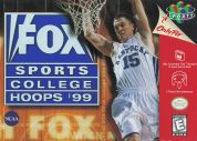 Scan of front side of box of Fox Sports College Hoops '99