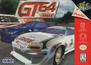Scan of front side of box of GT 64: Championship Edition