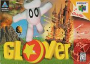 Scan of front side of box of Glover