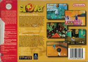 Scan of back side of box of Glover